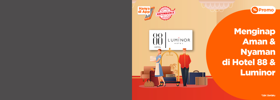 Hotel 88 & Luminor Deals