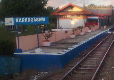 stasiunKarangasem